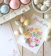 7.応援やお祝いの言葉を送りたい、春のポストカードセット