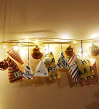 8.クリスマスに向けて作りたい、アドベントカレンダー