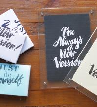 2.自分のために飾りたいメッセージデザイン集