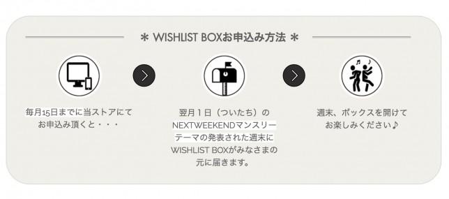 wishlist box omoushikomi