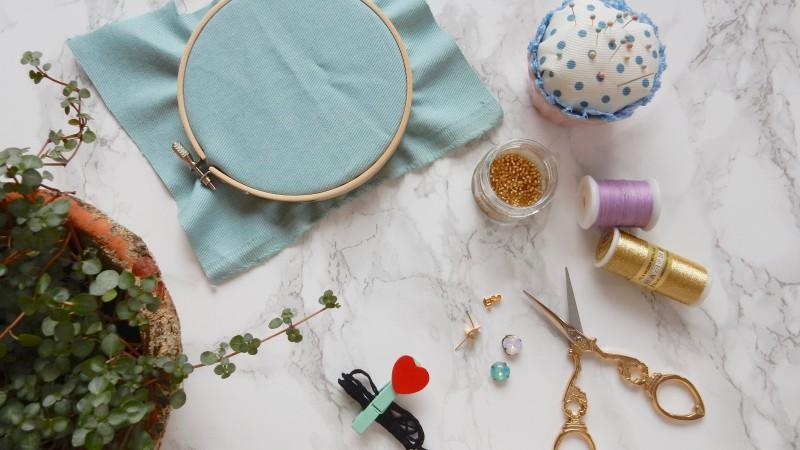 刺繍がかわいいお花のピアスの作り方 | NEXTWEEKEND