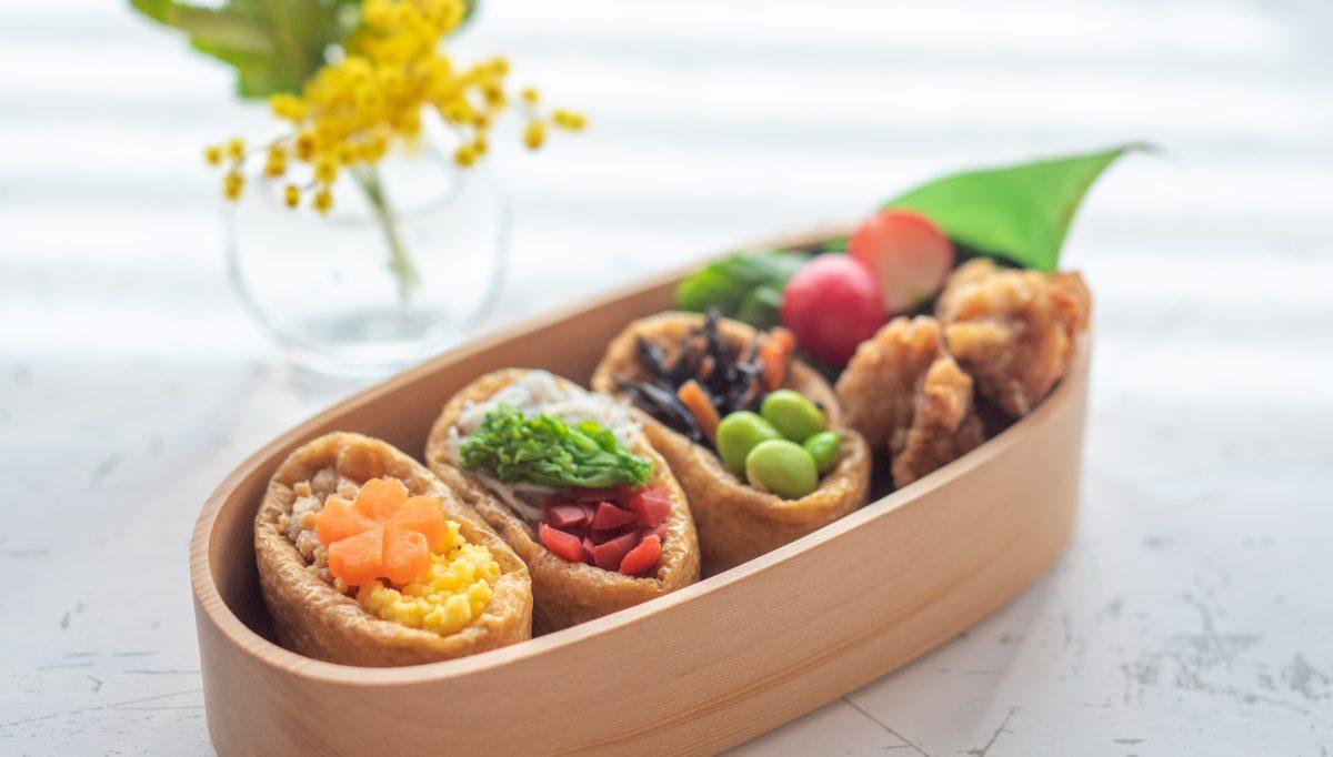 お花見やピクニックに オープンいなり で作る春のお弁当 Nextweekend